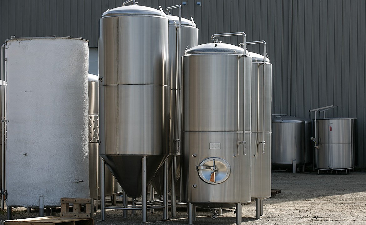 Ripley stainless steel tanks for cideries