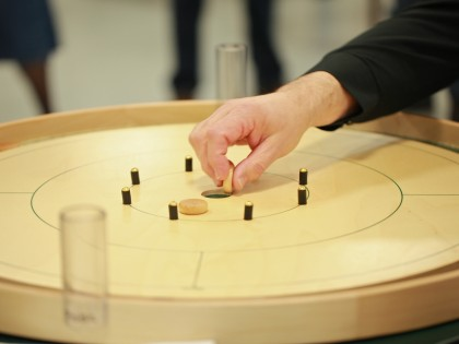 Ripley sponsors a Canadian game called Crokinole