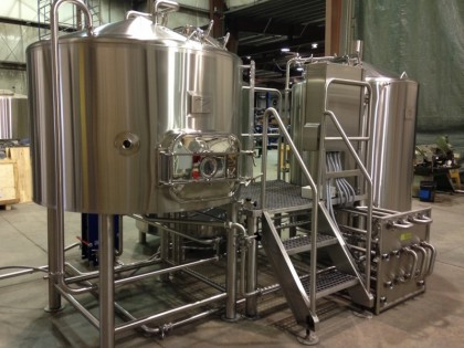 """Showroom"" Brewhouse for Craft Brewers Conference"