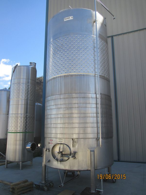 Used Blending Tanks – With Circumference Channel Cooling Jackets