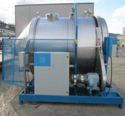 USED ROTARY MIXING TANK