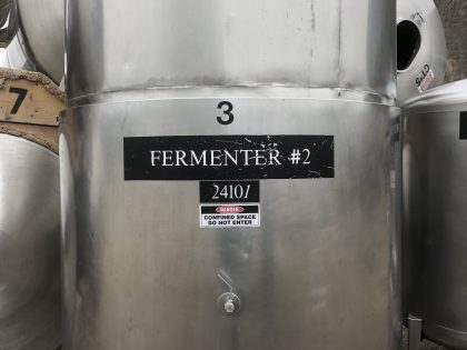 Used 30 HL Fermentor