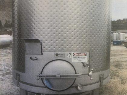 5200 L Red Fermentor
