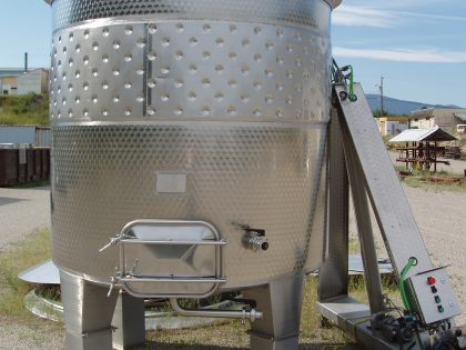 5000 L Punchdown Red Fermenter (RSL)