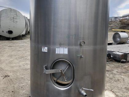 6200 L Wine tanks